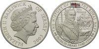 5 Pfund 2003, Jersey, Geschichte der Royal Navy, Sir Francis Drake, Far... 32,00 EUR kostenloser Versand