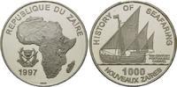 1000 Zaires 1997, Zaire, Geschichte der Seefahrt, Portugiesische Karave... 59,00 EUR kostenloser Versand