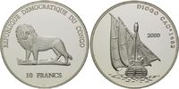 10 Francs 2000, Kongo Demokratische Republik, Geschichte der Seefahrt, ... 39,00 EUR kostenloser Versand