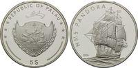 5 Dollars 2006, Palau, Geschichte der Seefahrt, Segelschiff HMS Pandora... 32,00 EUR kostenloser Versand