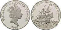 5 Dollars 2005, Pitcairn, Geschichte der Seefahrt, Segelschiff HMS Swal... 45,00 EUR kostenloser Versand