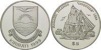 5 Dollars 1999, Kiribati, Geschichte der Seefahrt, Segelschiff 'Coquill... 59,00 EUR kostenloser Versand