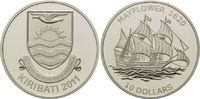 5 Dollars 2011, Kiribati, Geschichte der Seefahrt, Segelschiff 'Mayflow... 59,00 EUR kostenloser Versand
