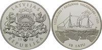 10 Latu 1998, Lettland, Geschichte der Seefahrt, Eisbrecher Krisjanis V... 79,00 EUR kostenloser Versand