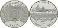 1 Lats 2002, Lettland, Hansestädte in Lettland, Kuldiga - Goldingen, PP  49,00 EUR kostenloser Versand
