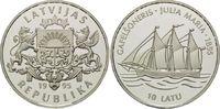 10 Latu 1995, Lettland, Geschichte der Seefahrt, Gaffelschoner 'Julia M... 39,00 EUR kostenloser Versand