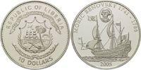 10 Dollars 2005, Liberia, Geschichte der Seefahrt, Segelschiff Moric Be... 37,00 EUR kostenloser Versand