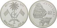 10 Rupien 2011, Malediven, Geschichte der Seefahrt, Segelschiff Cutty S... 29,00 EUR kostenloser Versand