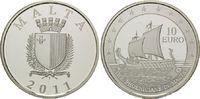 10 Euro 2011, Malta, Geschichte der Seefahrt, Galeere der Phönizier auf... 42,00 EUR kostenloser Versand
