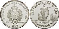 500 Liras 2000, Malteser Orden, Geschichte der Seefahrt, Kogge, Maltese... 39,00 EUR kostenloser Versand