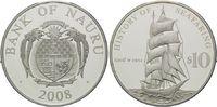 10 Dollars 2008, Nauru, Geschichte der Seefahrt - Segelschiff Greif 195... 49,00 EUR kostenloser Versand