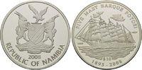 10 Dollars 2008, Namibia, Geschichte der Seefahrt - Viermaster Barke Po... 49,00 EUR kostenloser Versand