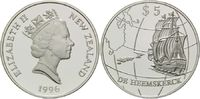 5 Dollars 1996, Neuseeland, Geschichte der Seefahrt - Segelschiff De He... 29,00 EUR kostenloser Versand