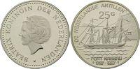 25 Gulden 1997, Niederländische Antillen, Geschichte der Seefahrt, Damp... 32,00 EUR kostenloser Versand