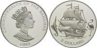 5 Dollars 1993, Bahamas, Geschichte der Seefahrt - Galeone zwischen Mar... 29,00 EUR  zzgl. 6,40 EUR Versand