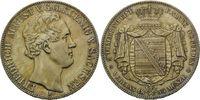 Doppeltaler 1854 F, Sachsen, Friedrich August II., 1836-1854, kl.Kr., v... 385,00 EUR kostenloser Versand