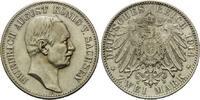 2 Mark 1914, Sachsen, Friedrich August III., 1904-1918, winz.Kr., st  185,00 EUR kostenloser Versand