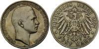 5 Mark 1907, Sachsen-Coburg-Gotha, Carl Eduard, 1900-1918, attraktive T... 1420,00 EUR kostenloser Versand