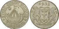 2 Gulden 1932, Danzig, Freie Stadt, kl.Kr., f.st  865,00 EUR kostenloser Versand
