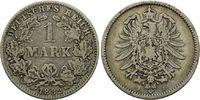 Mark 1882 J, Deutsches Kaiserreich, Kleinmünze, ss  38,00 EUR  zzgl. 6,40 EUR Versand