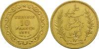 10 Francs 1891 A, Tunesien, Ali Bei, Königreich unter französischem Pro... 179,00 EUR kostenloser Versand