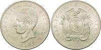 5 Sucres 1944, Ecuador, Republik, vz-st  26,00 EUR  zzgl. 6,40 EUR Versand
