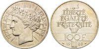 100 Francs 1988, Frankreich, 200 Jahre französische Revolution, min.ang... 15,00 EUR  zzgl. 6,40 EUR Versand