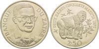 2,50 Zaires 1975, Zaire, Berggorillas, 15 Jahre WWF, angel., st  29,00 EUR  zzgl. 6,40 EUR Versand