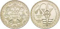 500 Francs 1975, Westafrikanische Staaten, 10 Jahre Währungsunion, st  32,00 EUR  zzgl. 6,40 EUR Versand