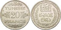 20 Francs 1934, Tunesien, Ahmad II Bei, unter französischem Protektorat... 24,00 EUR  zzgl. 6,40 EUR Versand
