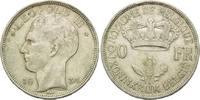 20 Francs 1934, Belgien, Leopold III, Rf.,ss  10,00 EUR  zzgl. 6,40 EUR Versand