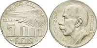 5000 Reis 1937, Brasilien, Republik, Alberto Santos Dumont, Rf.,ss  10,00 EUR  zzgl. 6,40 EUR Versand