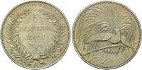 5 Mark 1894, Deutsch Neuguinea, Kolonien, Paradiesvogel, vz-f.st  2950,00 EUR kostenloser Versand
