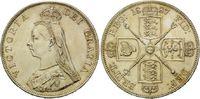 Double Forint 1887, Großbritannien, Victoria, kl.Kr. vz/f.st  135,00 EUR kostenloser Versand