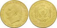 100 Perper 1910, Montenegro, Nikola I., 50. Regierungsjubiläum, RR! ss  14000,00 EUR kostenloser Versand