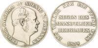 Taler 1858, Preußen, Friedr.Wilhelm IV., Ausbeutetaler, aus einer Servi... 55,00 EUR kostenloser Versand