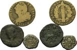 Lot: Sesterz/2 Sol/2 Real  Rom/Frankreich/Spanien, Lot von 3 Stück: Ses... 29,00 EUR  zzgl. 6,40 EUR Versand