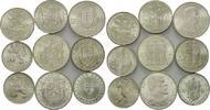 Lot: 10, 20, 25, 50, 100 Kronen 1933-1967, Tschechoslowakei / Slowakei,... 289,00 EUR kostenloser Versand