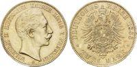 2 Mark 1888, Preussen, Wilhelm II, 1888 - 1918, st  595,00 EUR kostenloser Versand