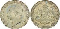 1 Vereinstaler 1863, Hessen-Darmstadt, Grosherzog Ludwig III., Rf., f.vz  210,00 EUR kostenloser Versand