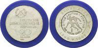 20 Mark 1980, DDR, Ernst Abbe, mit inoffiziellem Gegenstempel Olympiade... 495,00 EUR kostenloser Versand