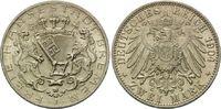 2 Mark 1904 J, Bremen, Freie Hansestadt, st  165,00 EUR kostenloser Versand