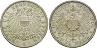 2 Mark 1904 A, Lübeck, Freie und Hansestadt, min.Rf., vz-st  245,00 EUR kostenloser Versand