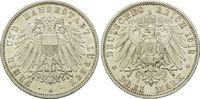 3 Mark 1912 A, Lübeck, Freie und Hansestadt, vz-st  169,00 EUR kostenloser Versand