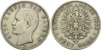 5 Mark 1888, Bayern, Otto, ss  295,00 EUR kostenloser Versand