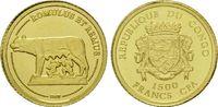 1500 Francs 2007, Kongo, Die Kapitolinische Wölfin säugt Romulus und Re... 25,50 EUR  zzgl. 6,40 EUR Versand