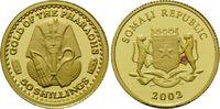 50 Shillings 2002, Somalia, Geschichte des Goldes, Fleck, PP  63,00 EUR kostenloser Versand