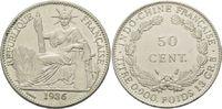 50 Centimes 1936, Französisch-Indochina, Kolonie, 1884-1954, ss-vz/vz  45,00 EUR  zzgl. 6,40 EUR Versand