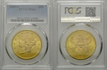 20 Dollars 1898 S, USA, Liberty Head Double Eagle, PCGS MS64  2295,00 EUR kostenloser Versand