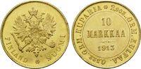10 Markaa 1913 S, Finnland, Nikolaus II. von Russland, 1894-1917, min.R... 395,00 EUR kostenloser Versand